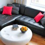 Кожаный диван в интерьере – отличное решение!