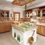 Дизайн кухни в этническом стиле