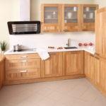 Преимущества использования кухни из массива дерева