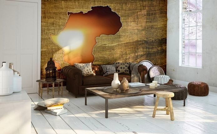 Дизайн кухни в африканском стиле
