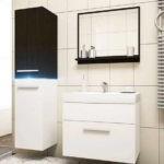 Функциональная мебель: раковина с тумбочкой для ванной комнаты